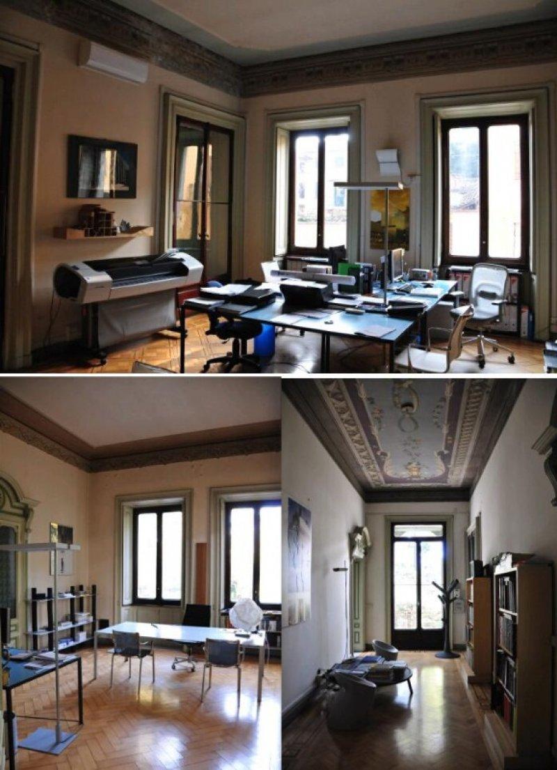 Ufficio in villa di stile liberty a thiene a vicenza in for Appartamenti arredati in affitto a vicenza