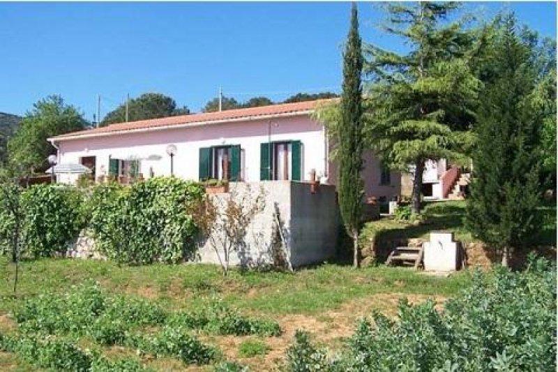 Villa lentisco in localit ripitino vicino a capoliveri a - Case in affitto con giardino livorno ...