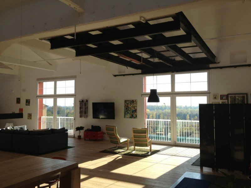 Loft open space vera archeologia industriale a verona in for Case loft