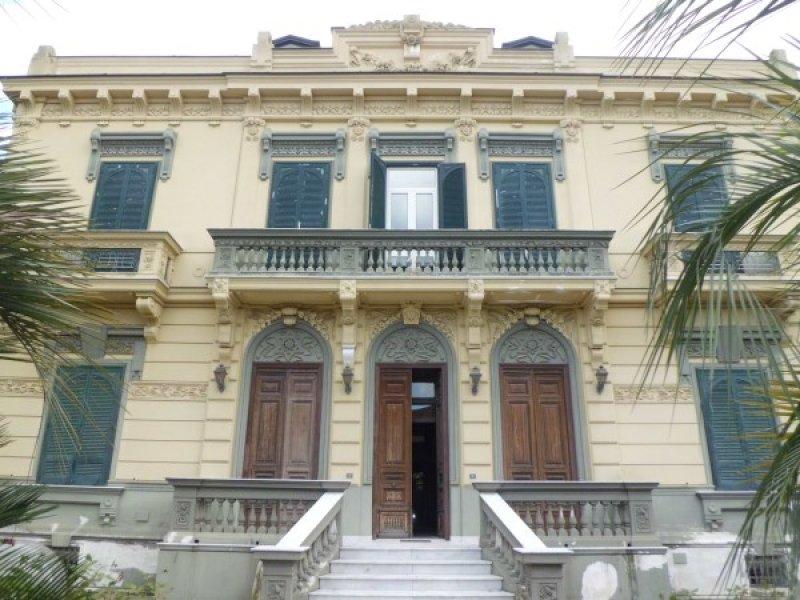 villa stile liberty giugliano in campania a napoli in vendita