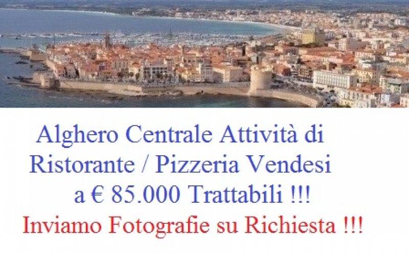 Alghero attività di ristorante pizzeria a Sassari in Vendita