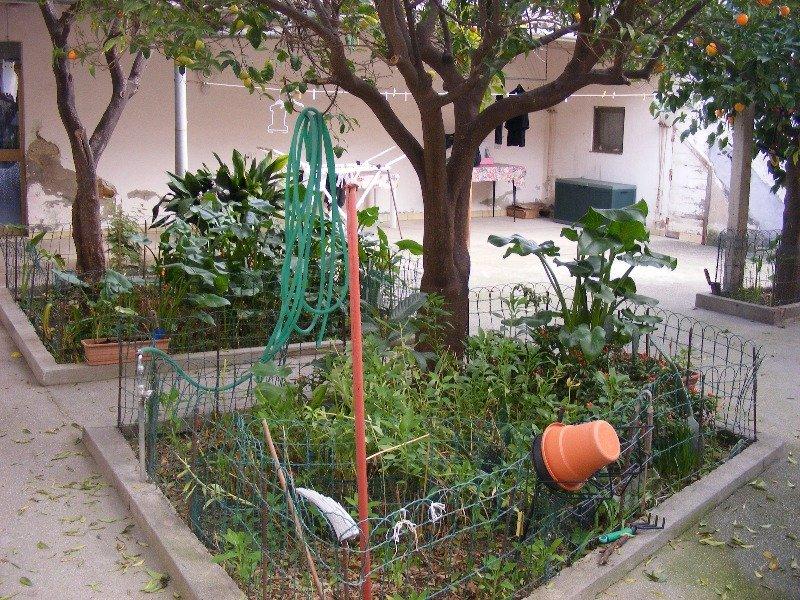 Pirri casa con cortile e giardino a Cagliari in Vendita