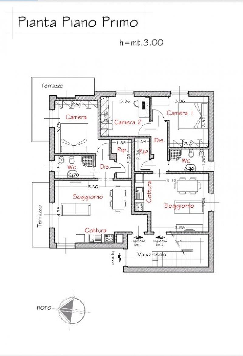 Sestri Levante appartamenti in villa a Genova in Vendita