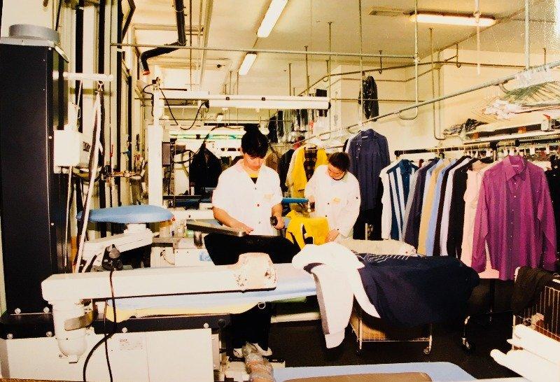 Civitanova Marche cedesi attività di lavanderia a Macerata in Vendita