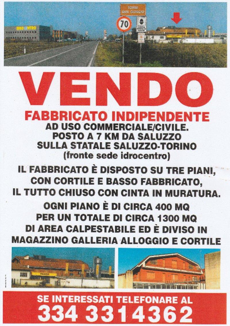 Torre San Giorgio fabbricato indipendente a Cuneo in Vendita