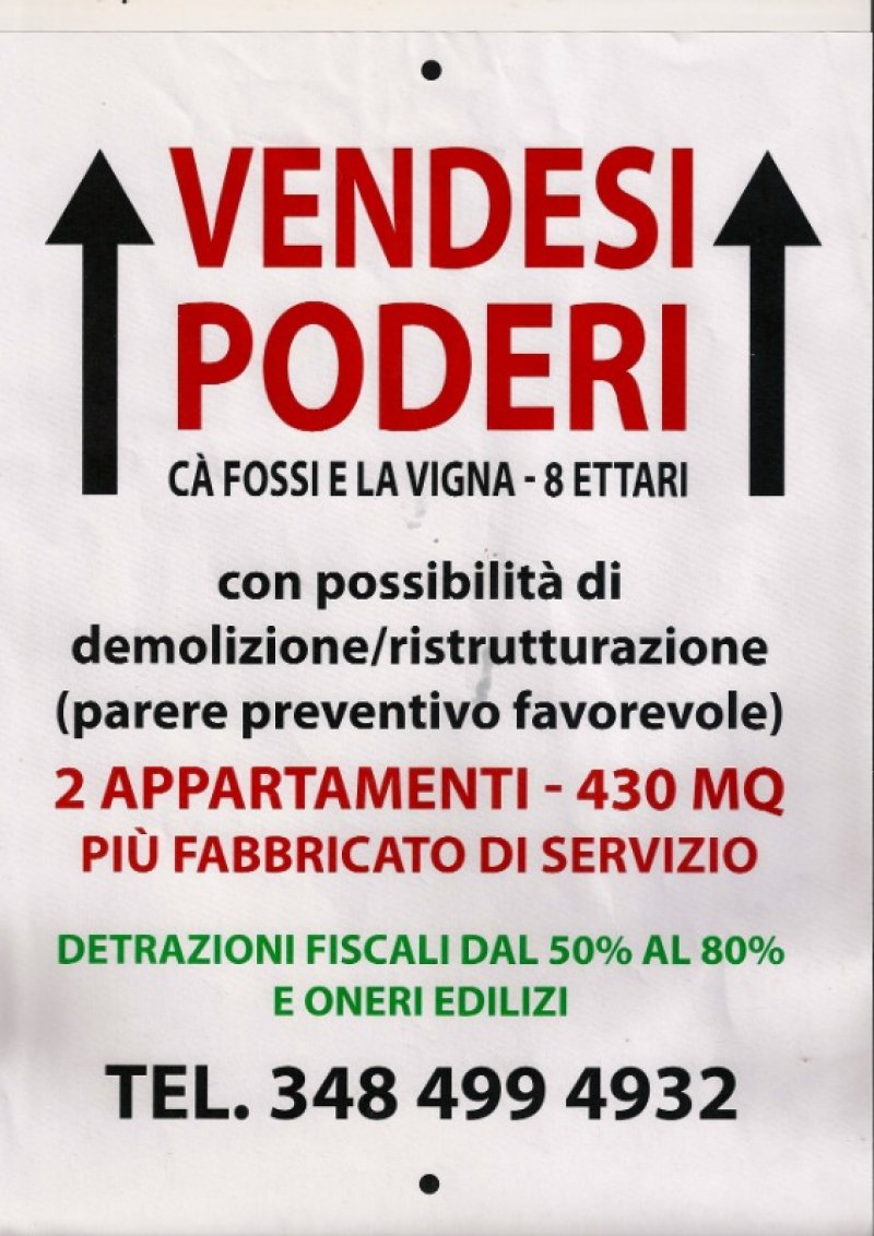 Sarsina rustico a Forli-Cesena in Vendita