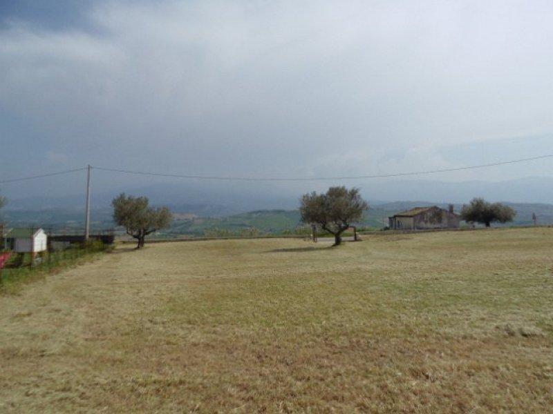 Nocciano terreno panoramico a Pescara in Vendita