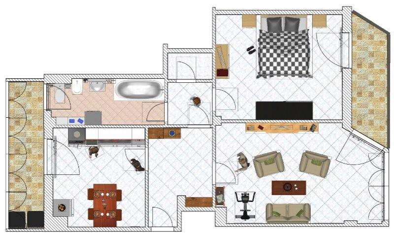 Como appartamento con locale uso sottotetto a Como in Vendita