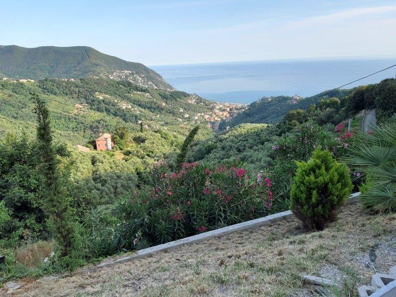 Moneglia terreno edificabile vista mare a Genova in Vendita
