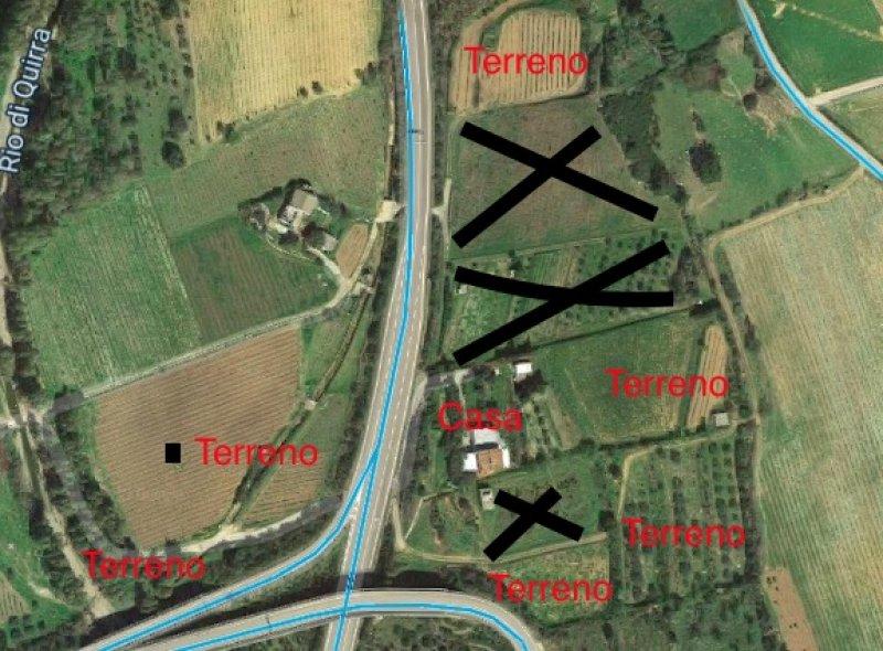Tertenia terreno agricolo con abitazione a Ogliastra in Vendita