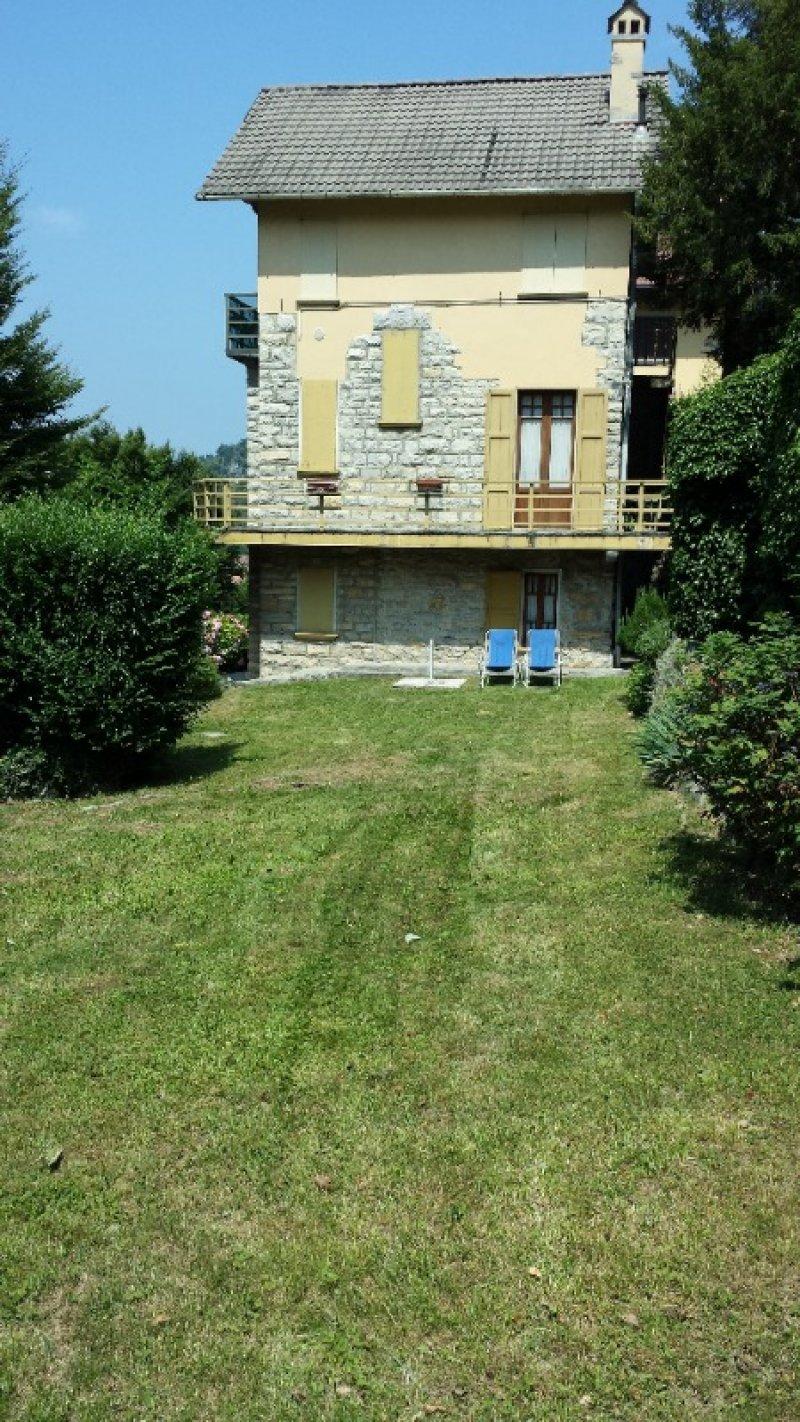 Esino Lario appartamento in parco secolare a Lecco in Vendita