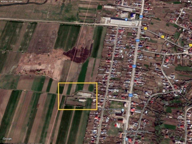 Curtisoara terreno edificabile a Romania in Vendita