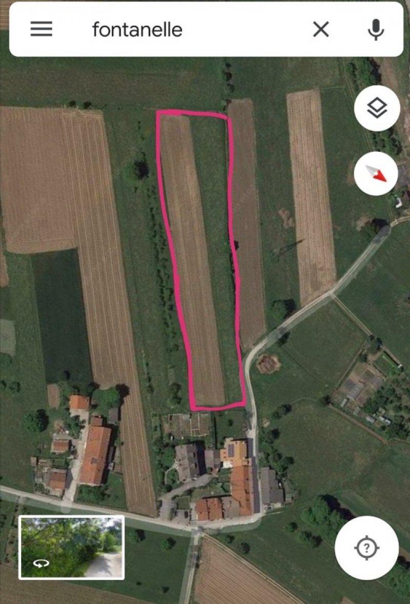 Boves frazione Fontanelle zona Tetto Rotto terreno a Cuneo in Vendita