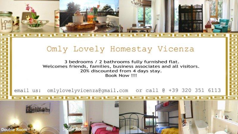 Vicenza casa vacanza a Vicenza in Affitto