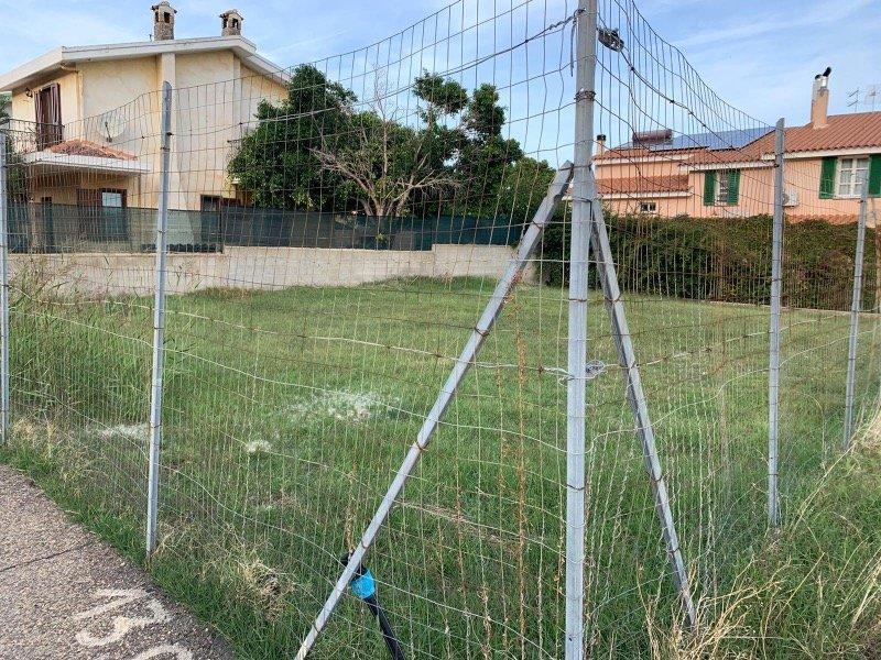 Capoterra terreno edificabile per fabbricazione a Cagliari in Vendita