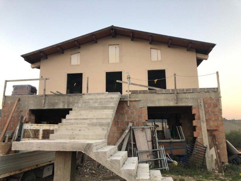 Cugnoli villa in costruzione a Pescara in Vendita