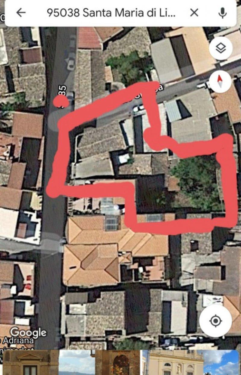 Santa Maria di Licodia casa zona centro a Catania in Vendita