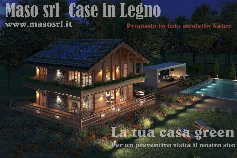 Vicenza case in legno green a Vicenza in Vendita