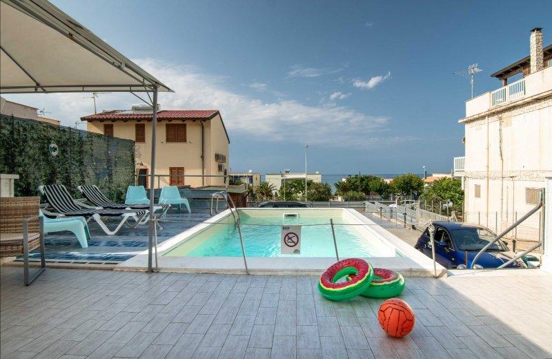Alcamo Marina casa vacanza a Trapani in Affitto