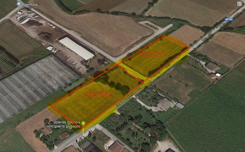 Puglianello lotti terreno nella zona industriale a Benevento in Vendita