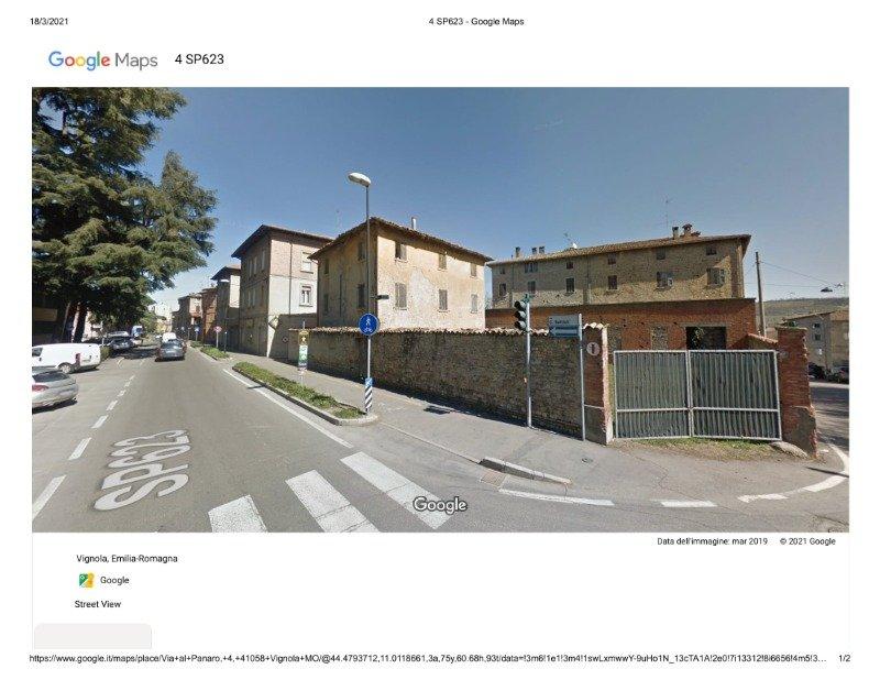 Vignola terreno edificabile a Modena in Vendita