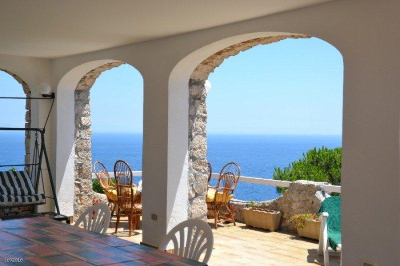 Gagliano del Capo casa con veranda vista mare a Lecce in Vendita