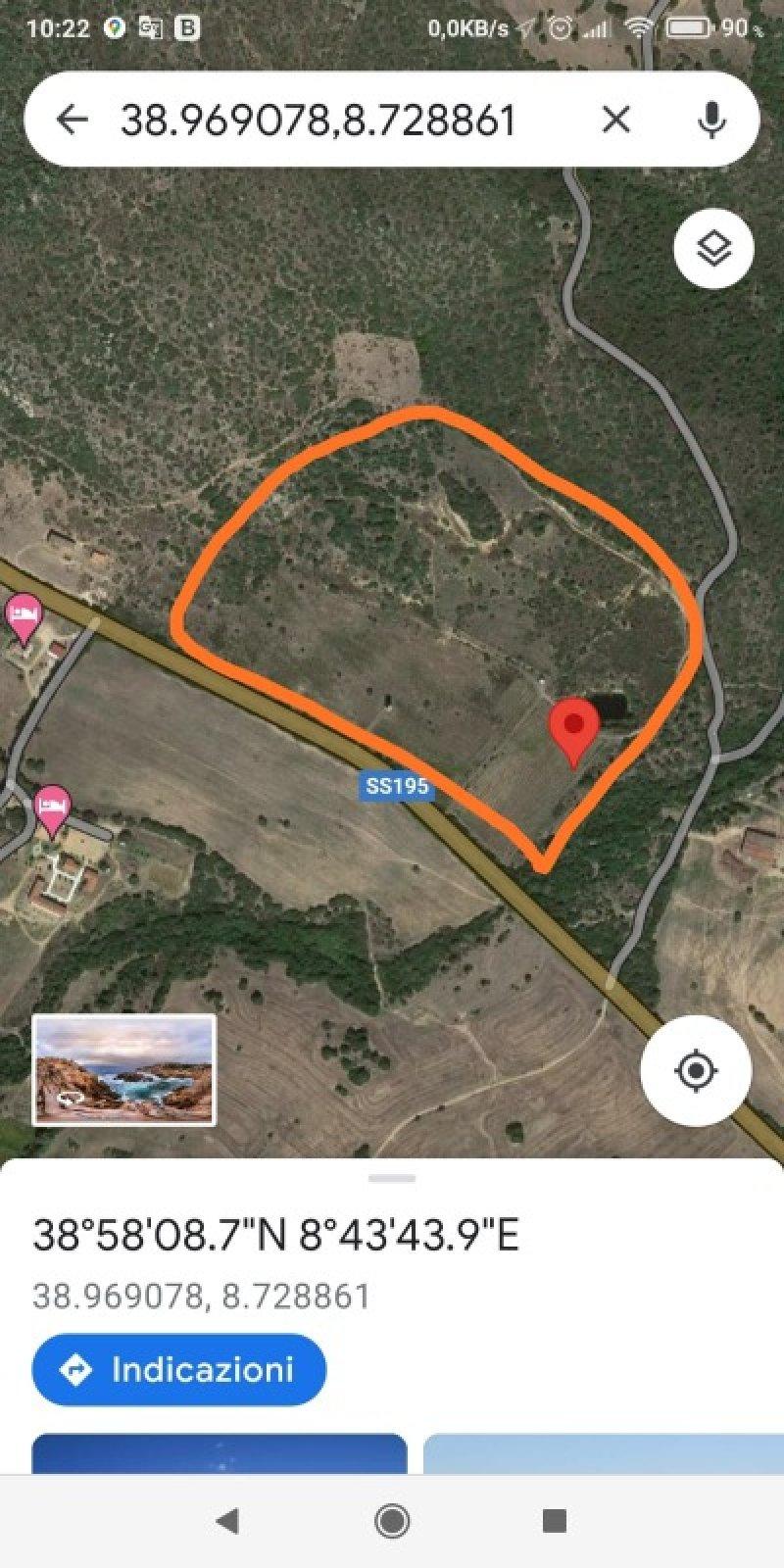 Teulada località Rio Salixi Tegula terreno a Cagliari in Vendita