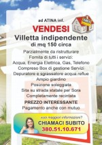 Annuncio vendita Atina villetta indipendente