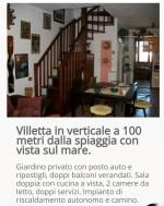 Annuncio vendita Comacchio villetta in verticale fronte mare