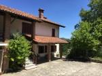Annuncio vendita San Sebastiano Curone casa con giardino