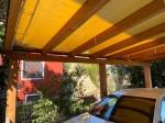 Annuncio vendita Ravarino tettoia interamente in legno con telo