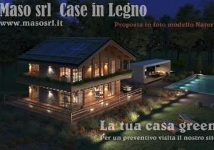 Annuncio vendita Vicenza case in legno green