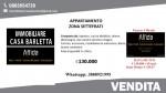Annuncio vendita Barletta appartamento con cantina zona Settefrati